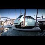 Fiat – 500, Jazda po wodzie na Ibizie