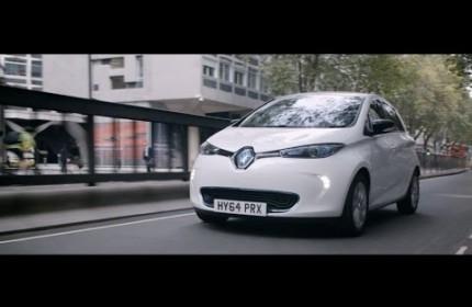 Renault - ZOE, Z napędem elektrycznym